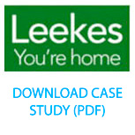 Leeks Home Furnishings. Helped boost foot traffic by 20% year on year.