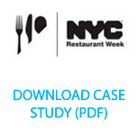 NYC & Company Tourism and Marketing. Restaurant listings had an average 30% higher  click-through rate to reservations.